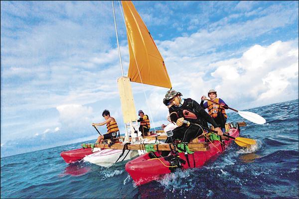 蘇達貞帆遊世界 雙手划向日本島