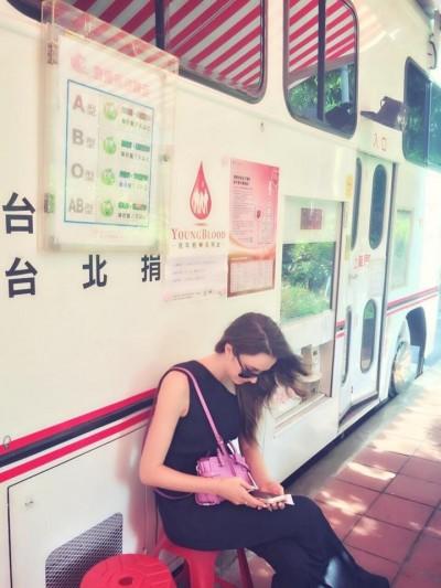 瑞莎捐血挺塵爆傷者遭拒 因為…
