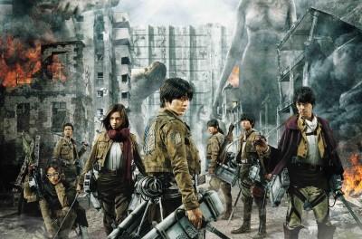 電影《進擊的巨人》8月上映