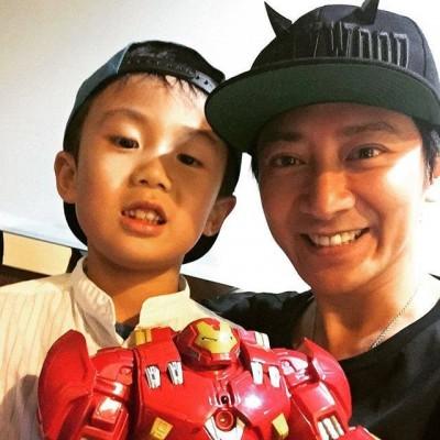 孫耀威自爆兒子6歲了