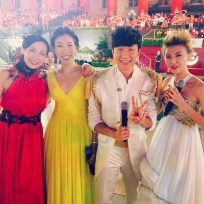 林俊傑回新加坡 竟揪3女玩...