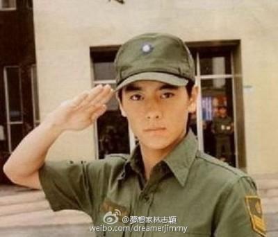 林志穎致敬台灣軍人節 中國網友誤會大了