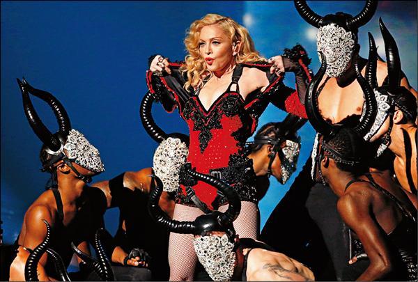 瑪丹娜可望來台 15日宣布