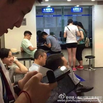 陳冠希不爽強國大叔硬插 爆衝突進警局