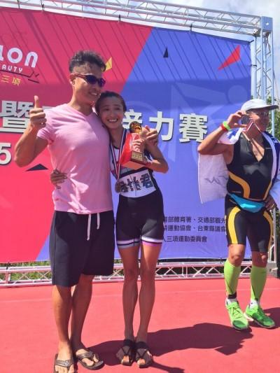 38歲侯怡君超威 鐵人三項奪第2名