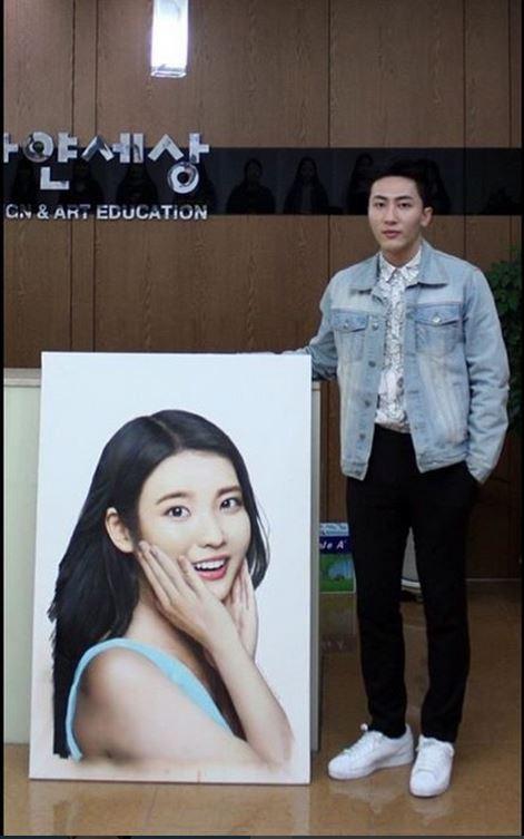 南韓超寫實畫家 他畫的IU眼神會勾人