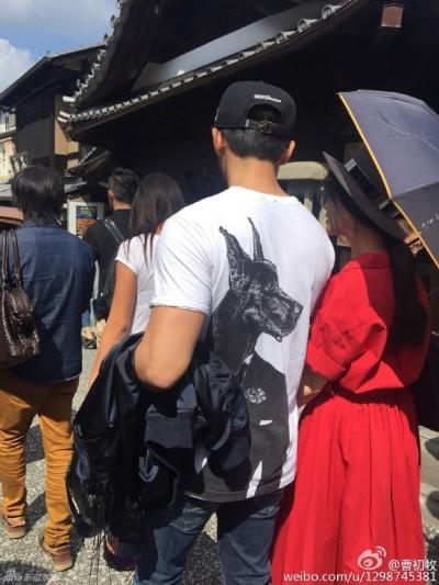 范冰冰李晨遊日 網友扮柯南跟拍