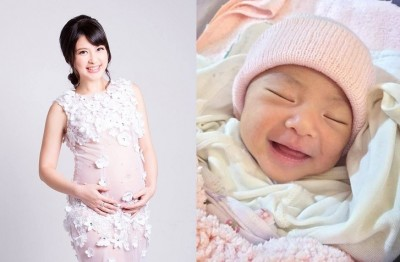 陳海茵曬女 愛笑像媽媽
