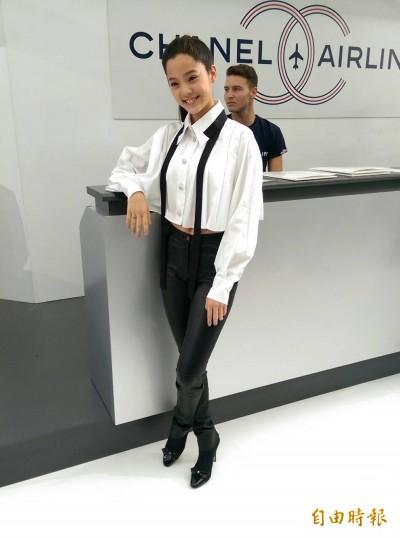 香奈兒巴黎時裝週 歐陽娜娜受邀看秀