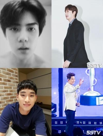打敗金秀賢李敏鎬 EXO世勳韓流人氣冠軍
