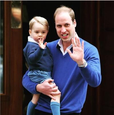 喬治小王子穿什麼  這件大有來頭