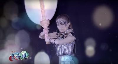 (影片)謝金燕化身女戰士 霸氣喊「叫我女神!」