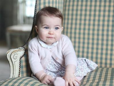 已被萌暈! 夏綠蒂小公主快7個月大惹!