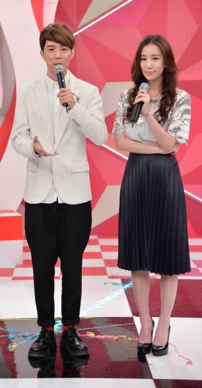 MTV獨家直播MAMA 小杰APPLE盛裝陪粉絲觀賞