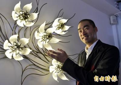看好南韓藝術家崔旴嵐 何政廣專書介紹