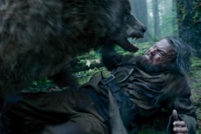 (有片)驚!李奧納多超犧牲 新片遭熊強暴2次