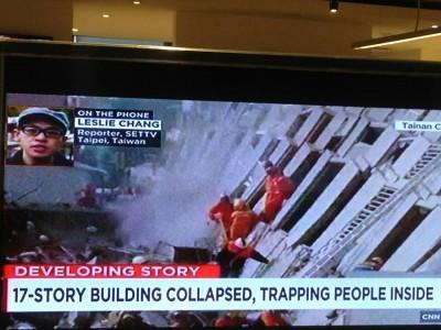 CNN連線找三立 強震動員令最猛