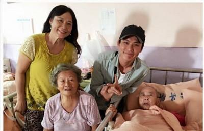 阿公在加護病房 黃鐙輝急奔台南