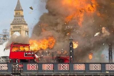 成龍拍爆炸戲 倫敦民眾誤認恐攻痛批