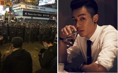 香港再爆警民衝突 男星PO「好夢」挨轟