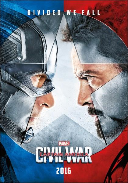 《美國隊長3》英雄大亂鬥 上映日期︰0427