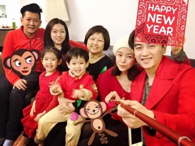 陳曉拜見岳母  陳妍希:過了一個幸福的好年