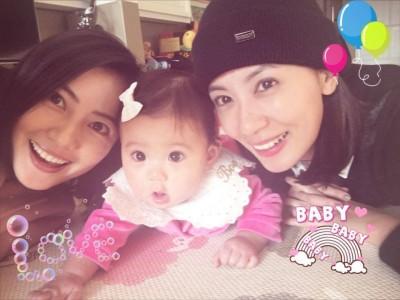 賈靜雯曬萌咘咘 「亞洲最美乾媽」來拜年啦!