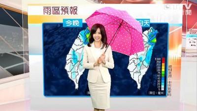 (有片)蔡依林初登主播台 尷尬傻笑超呆萌