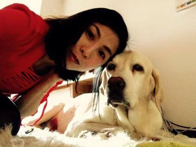 14歲愛犬去世 許茹芸不捨: 媽咪真的好愛你