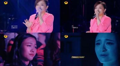 徐佳瑩含淚唱《我好想你》 深情嗓音逼哭觀眾