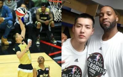 超威!吳亦凡跨足NBA 搭T-MAC明星賽擊敗美國隊