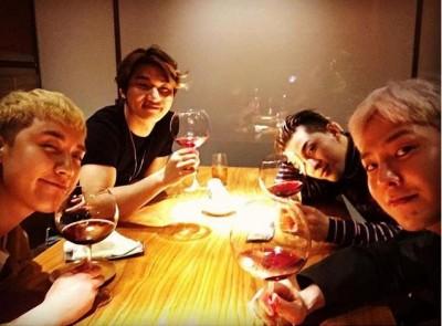 BIGBANG聚餐少1人 團員呼喊T.O.P「想你了」
