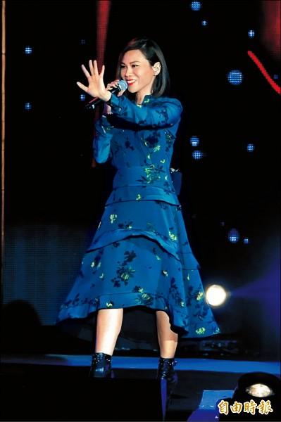 蔡健雅超強 演唱會將獲文化部830萬補助