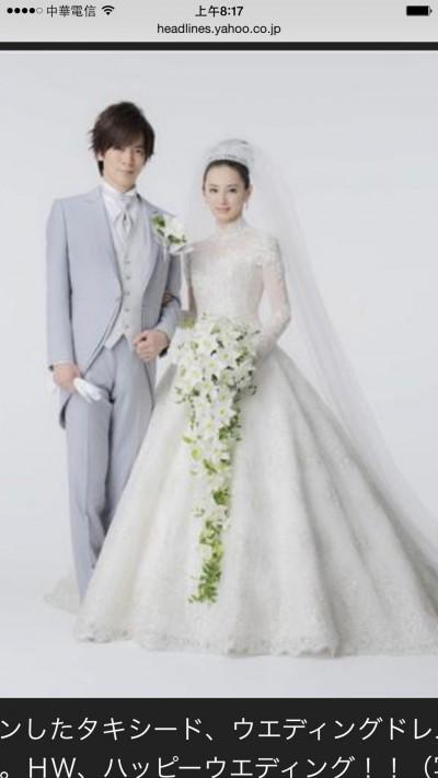 不只北川景子 林志玲絕美婚紗也給她設計