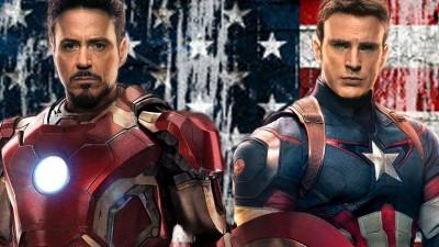 (有片)打完內戰 美國隊長還是被鋼鐵人嚇呆!