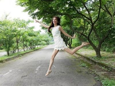 遇「挺」台灣的中國留學生  女星提倡開放觀光:要有信心
