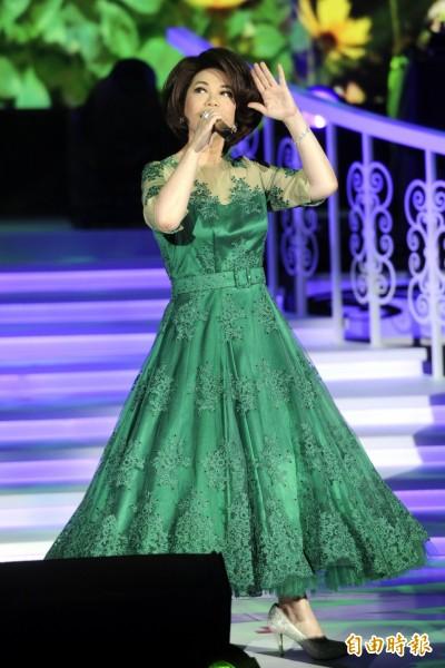 (影音)蔡琴開唱同台 「免費老公」 竟對她沒興趣