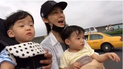 (影音)陳建州帶飛翔看飛機 想起父親...