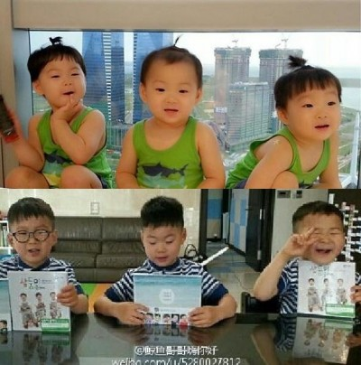 三胞胎竟成「劉大尉」  入伍髮型超帥氣