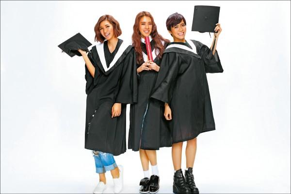 喬紫喬拍學士照 阿紫小喬要畢業了