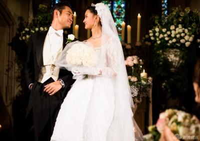(圖多)十三爺浪漫婚禮照唯美曝光