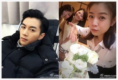 陳妍希今33歲生日 陳曉放閃喊「我的」