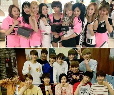 韓2016上半最受矚目新秀 TWICE、SEVENTEEN奪得