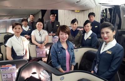 陳雅琳真好運   遇見史上「最重量級」空服員團隊