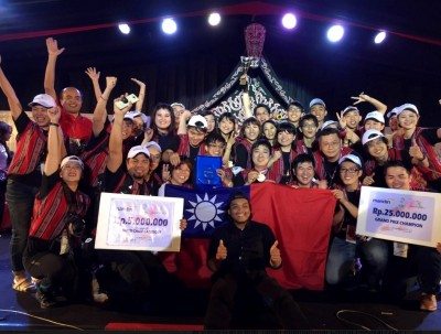 國旗飄揚! 北樂青年合唱團 印尼大賽奪金牌