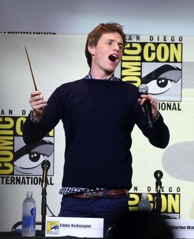 (影音)壯觀!艾迪瑞德曼送魔杖 邀7千粉絲一起揮舞