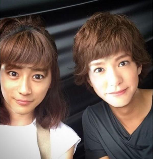 桐谷美玲與他玩換臉 網友驚艷:換臉一樣美!
