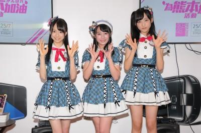 AKB48成員旋風襲港 400名粉絲擠爆書展