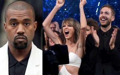 肯伊將聯手凱文? VMA頒獎典禮上惡整泰樂絲