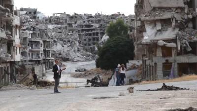 三立挺進敘利亞 採訪飄焦屍味